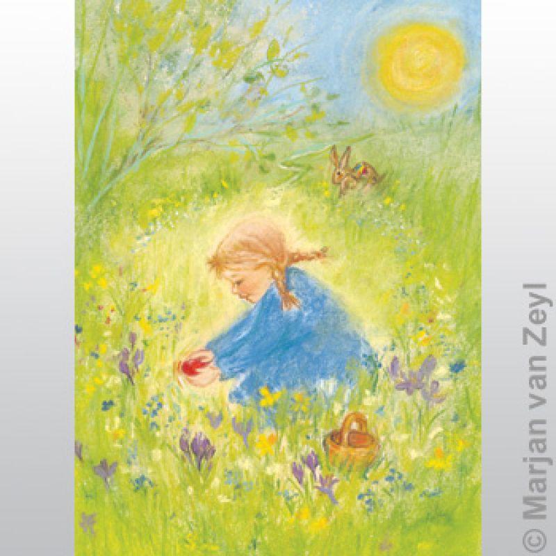 Kunstkarten Farben d 5 Stk Sommers