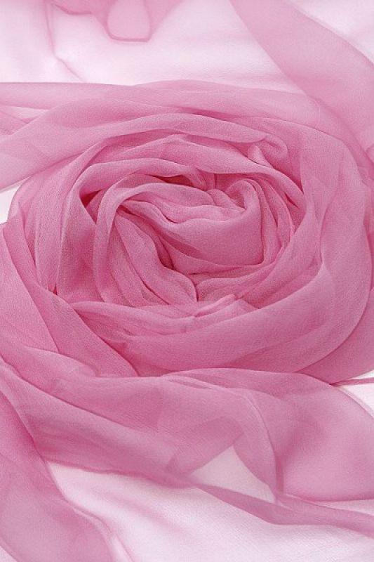 Seidenschal aus Chiffon in Rosa 180 x 55 cm zum Nunofilzen 99fb5b4719
