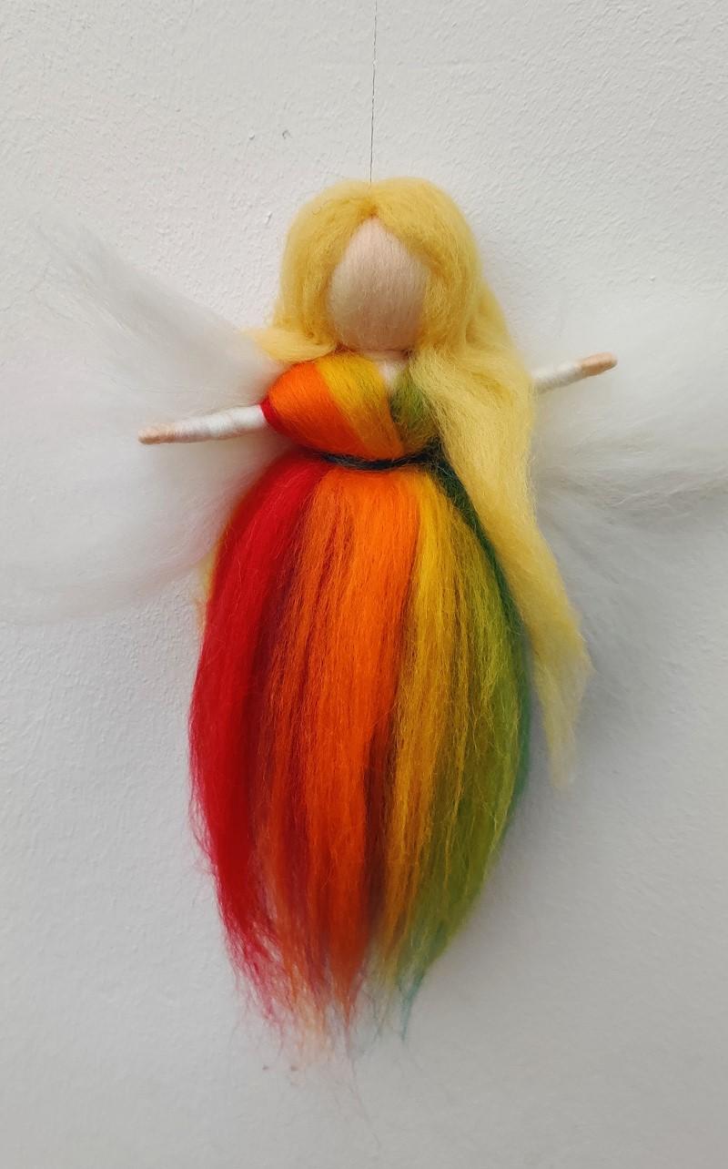 Bastelpackung Regenbogenfee von lisa_mpunkt T&W