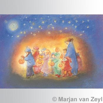 Kunstkarte St. Martinsumzug
