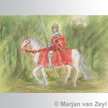 Kunstkarte Ritter Parzival