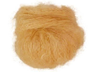 Puppenhaar aus Mohair blond