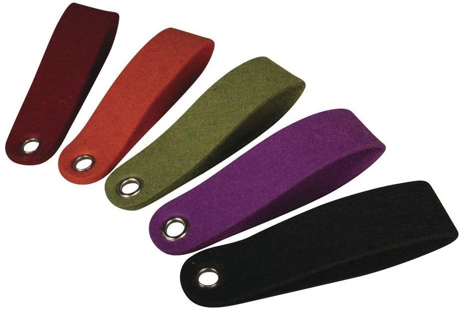 Schlüsselanhänger - Filzlasche- aus Filz 5 Stück