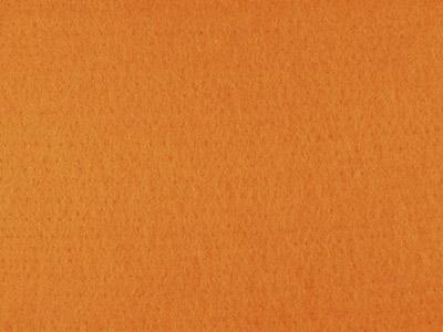 Vorfilz / Nadelfilz in Orange