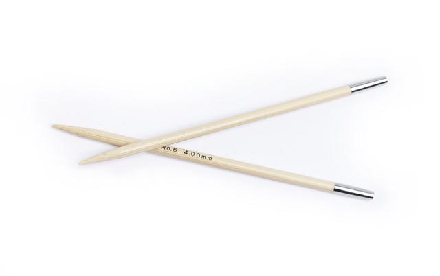 CarryC Long Bambus Schraub - Rundstricknadeln 4 mm