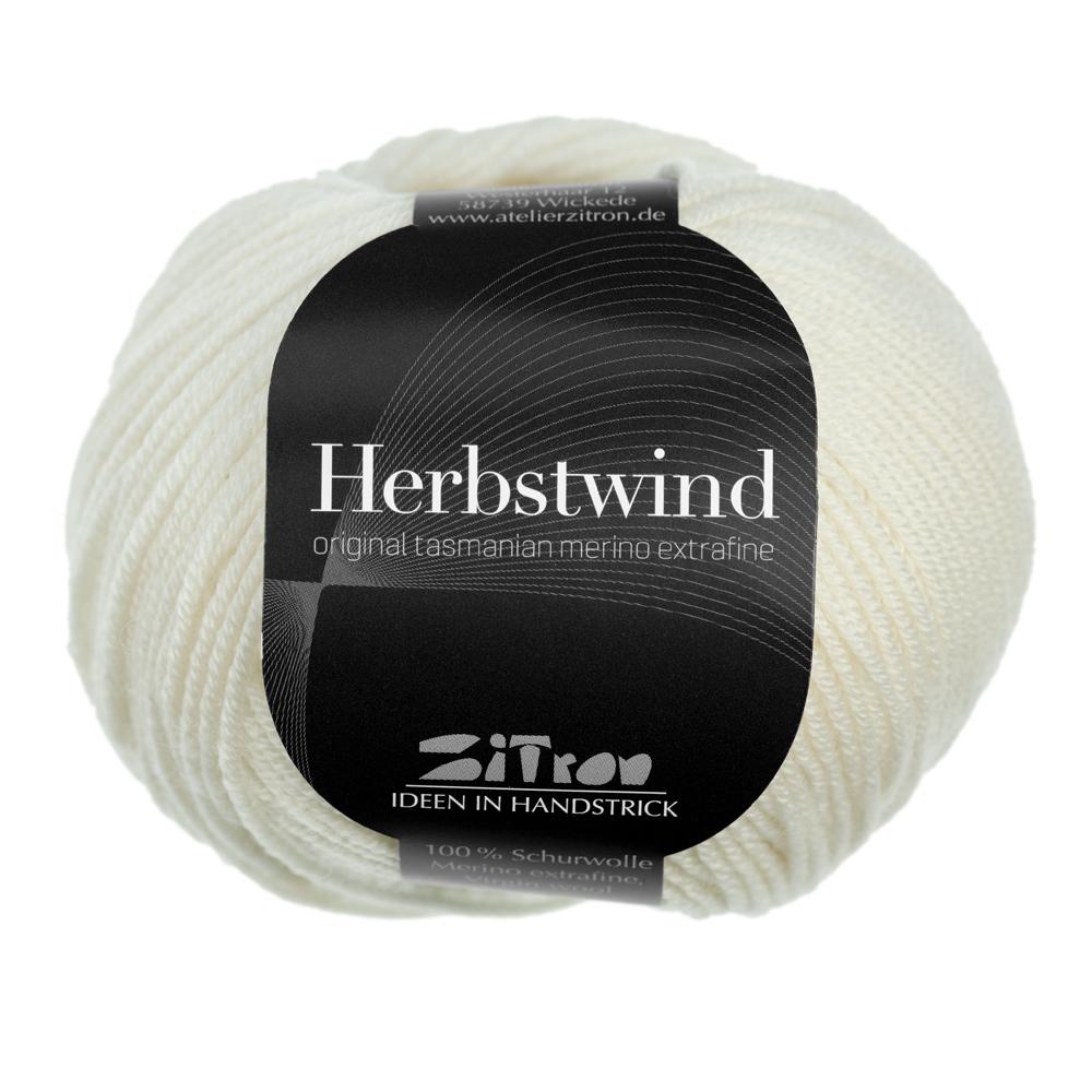 Herbstwind Merinowolle 13 ecru