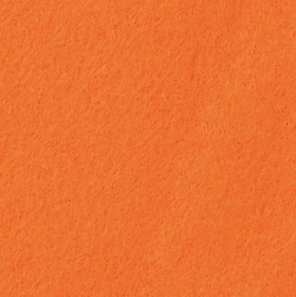 Filz / Bastelfilz 5 m Orange  - Super Qualität