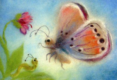 Postkarte * Schmetterlinge