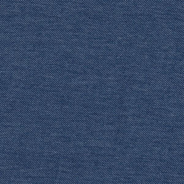 Jersey Jeansoptik Stoff - uni - jeans blau