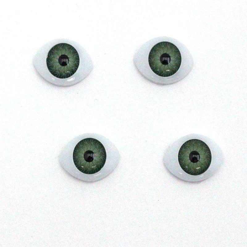 Augen in grün