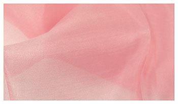 Pflanzengefärbtes Seidentuch rosa