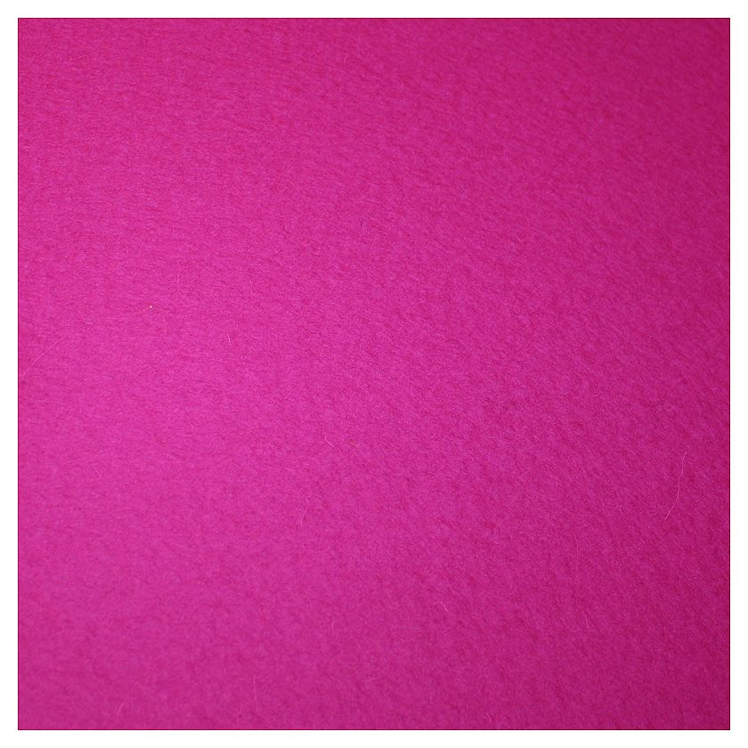 Reiner Wollfilz pink 3mm 180 cm breit
