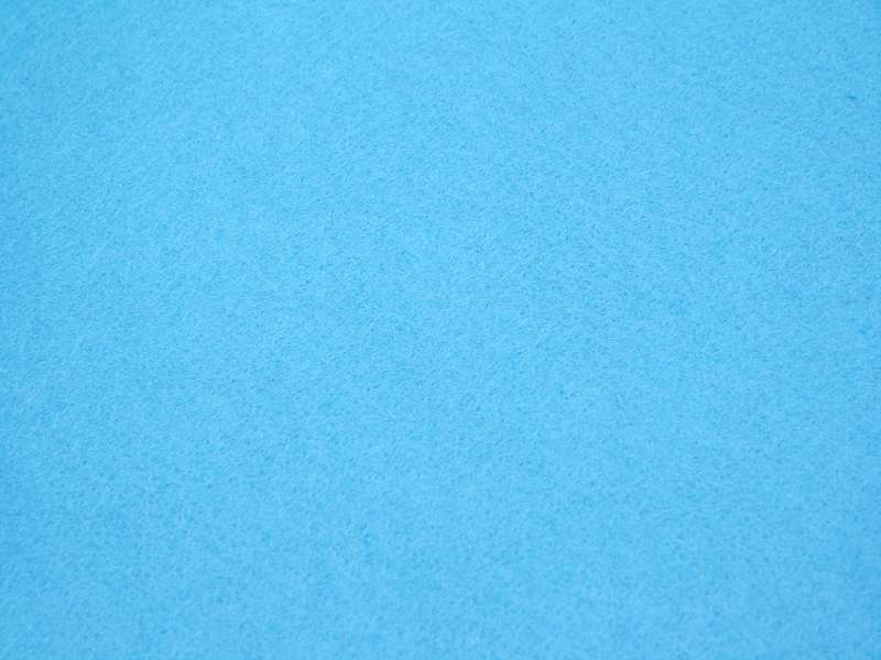 Filz / Bastelfilz Wasserblau