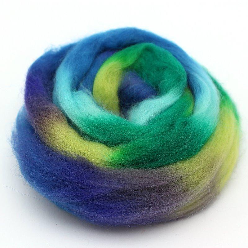 Multicolor Wolle zum Filzen Fantasie