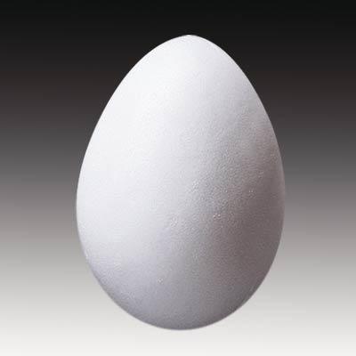 Filzen / Styroporei 4,5 x 3 cm