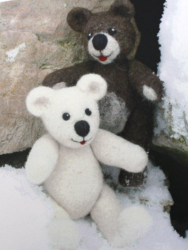 Nadelfilzpack Eisbär