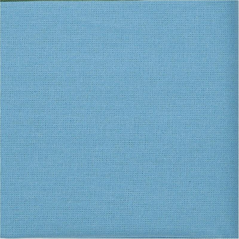 Baumwollstoff Blau