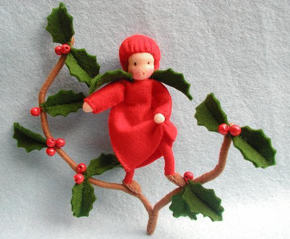Bastelpackung Weihnachtskind Atelier Pippilotta