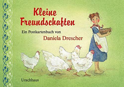 Kleine Freundschaften Postkartenbuch von Dabiela Drescher