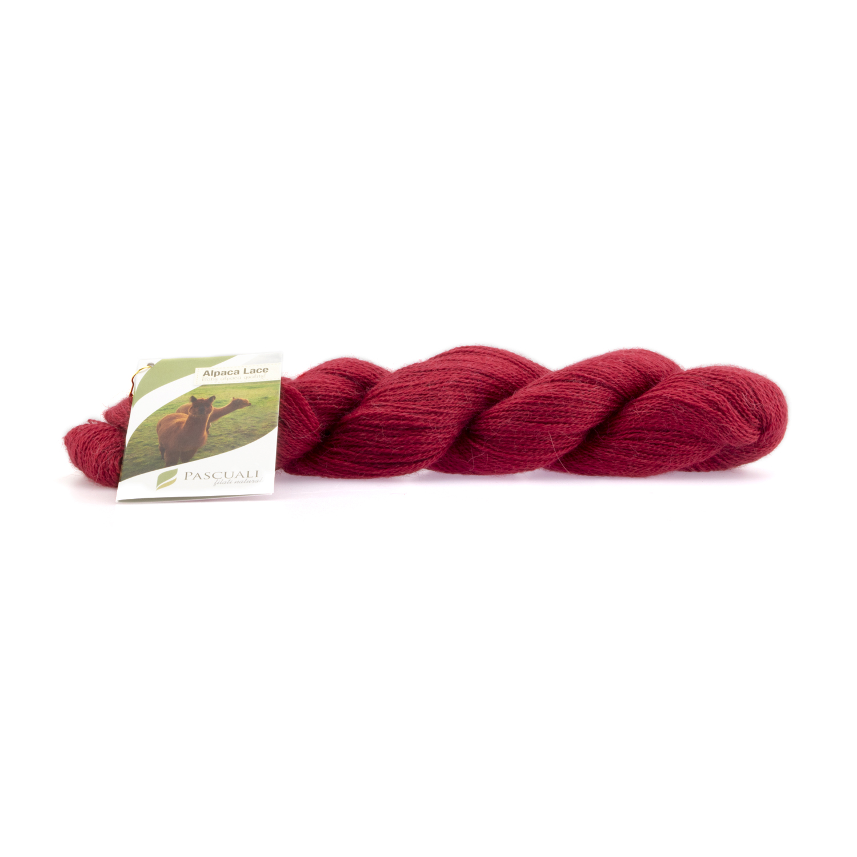 Alpaka Lacegarn Erdbeere rot Nr. 23 50 g (Babyalpaka)
