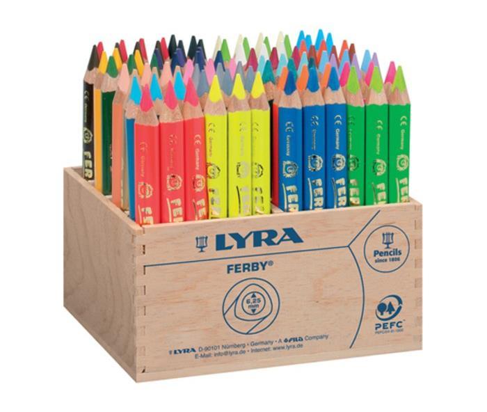 Schatzkiste 10 Lyra 96 Farbstifte Ferby