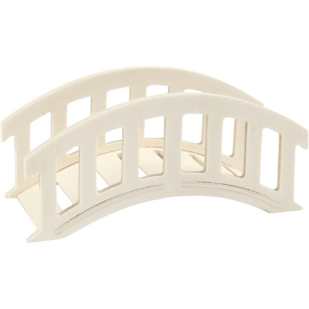Kleine Bogenbrücke aus Holz