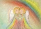 Kunstkarte Engel Juni Eriena Blaffert
