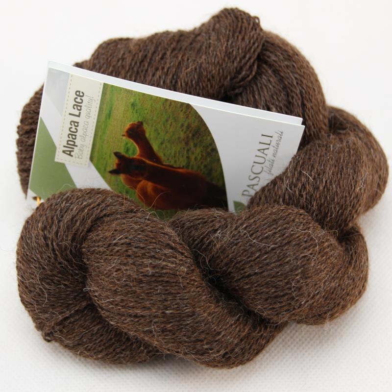 Alpaka Lacegarn Mokka Nr. 07 50 g (Babyalpaka)