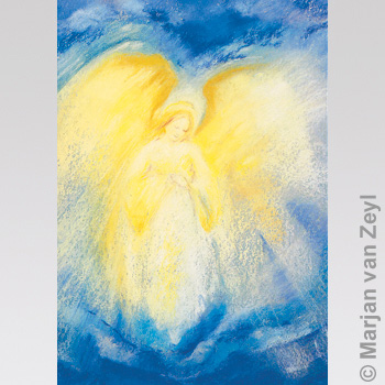 Kunstkarte Engel