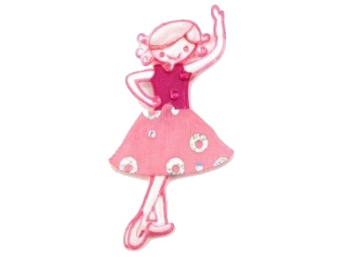 Aufnäher - Applikation Ballerina