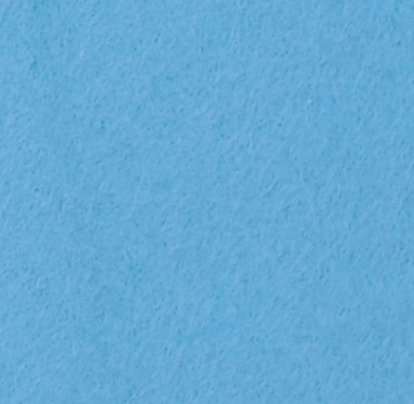 Filz / Bastelfilz 5 m Hellblau  - Super Qualität