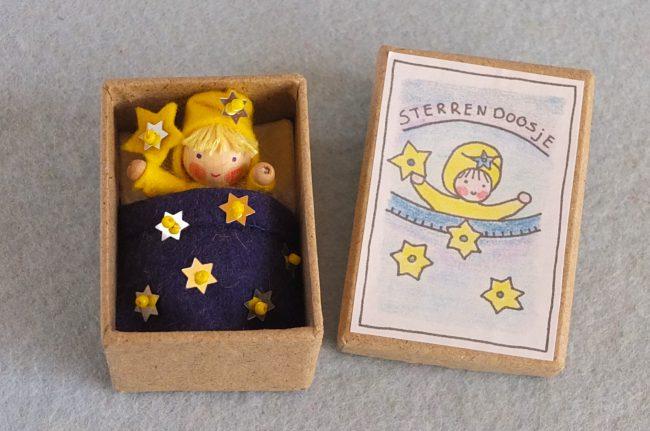 Bastelpackung Sternenschachtel Atelier Pippilotta