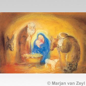 Kunstkarte Heilige Familie