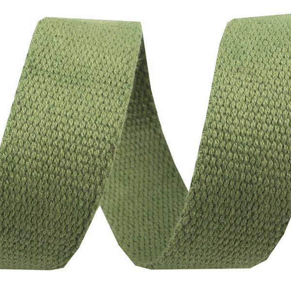 Baumwollgurtband 3 cm grün