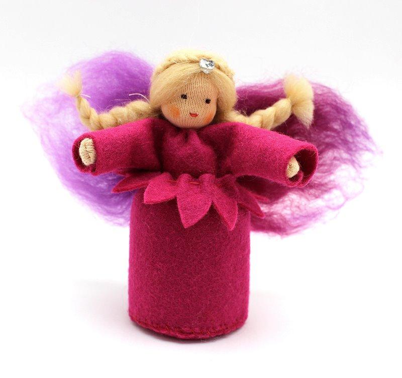 Bastelpackung Sommerelfe pink Augenweide