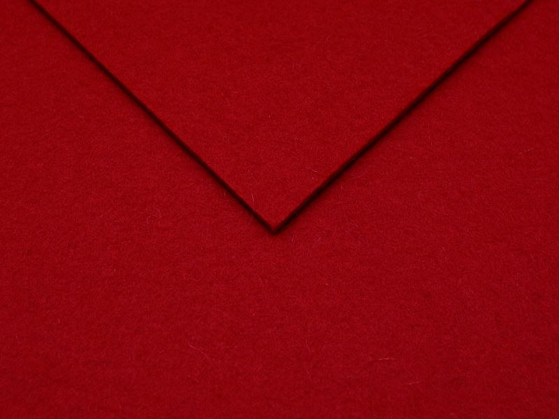 Wollfilz 3mm Design Rot