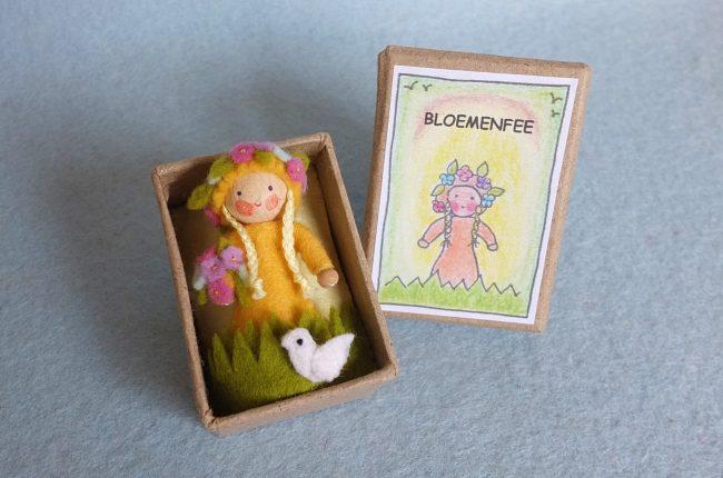 Bastelpackung Blumenelfe in der Schachtel von Pippilotta