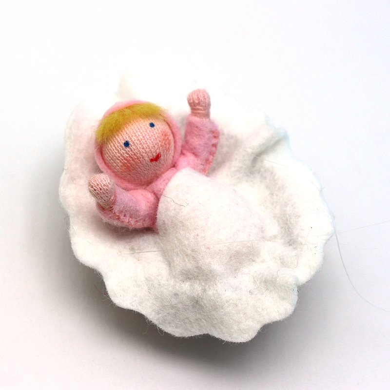 Baby in rosa