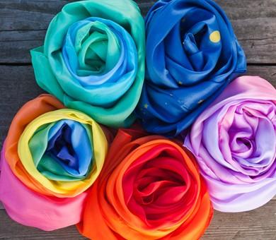 Sarah´s Silks Spieltuch aus Seide Prinzessin