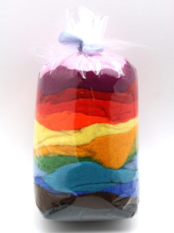Bunte Märchenwolle Probepackung 100 g