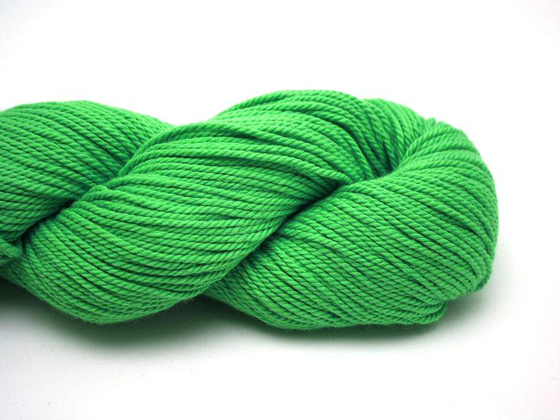 Baumwollgarn Giftgrün