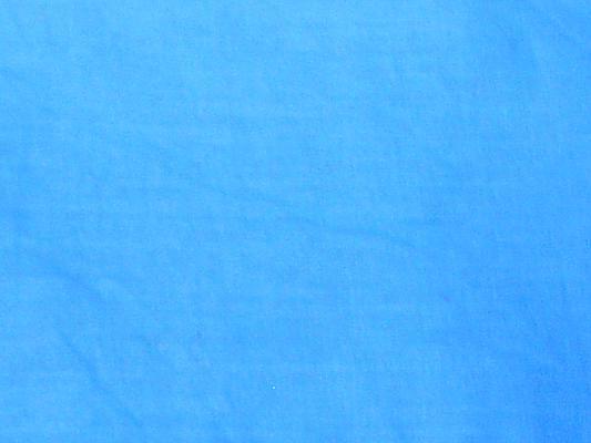 Baumwolltuch in Türkis 100 x 100 cm