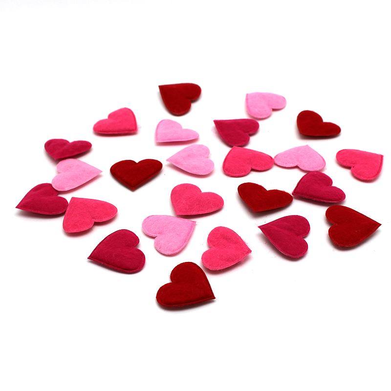 Filz- Herzen