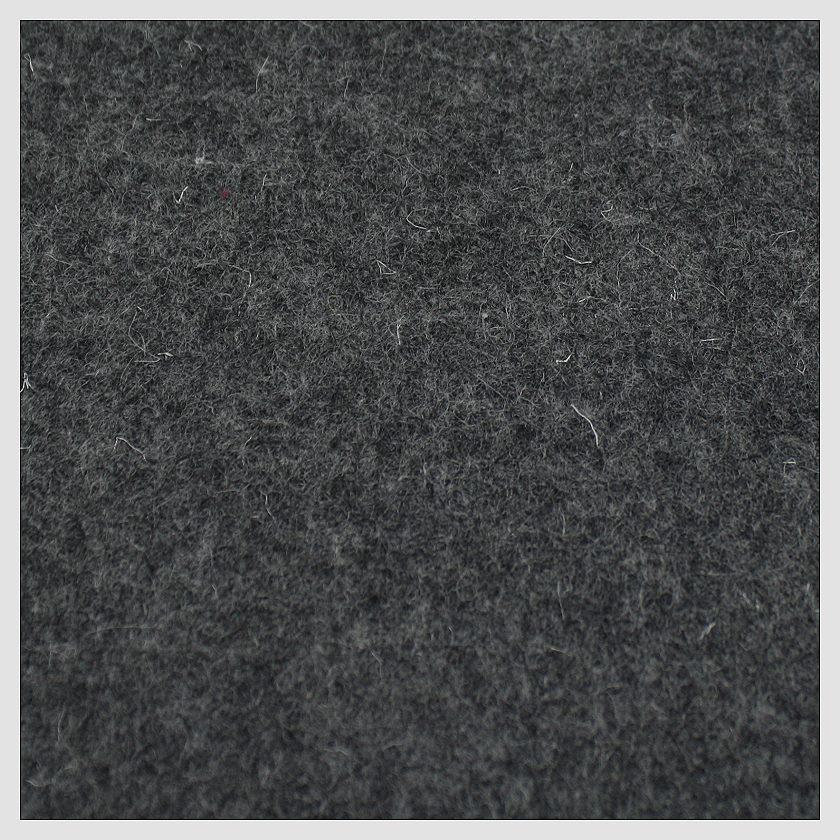 100% Wollfilz anthrazit 180 cm 3mm stark