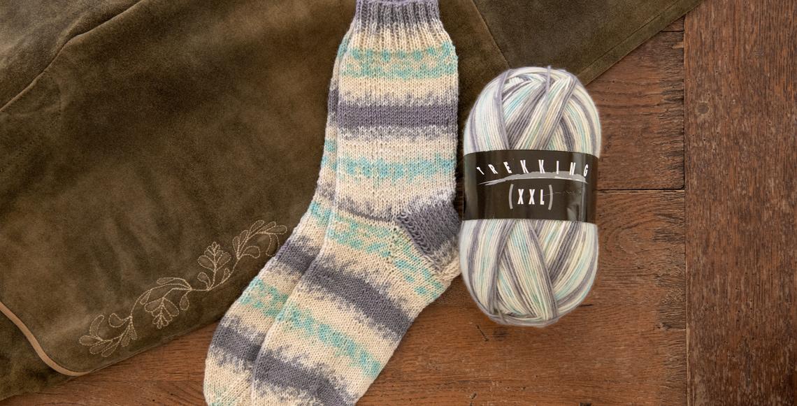 Sockenwolle Trekking XXL 702