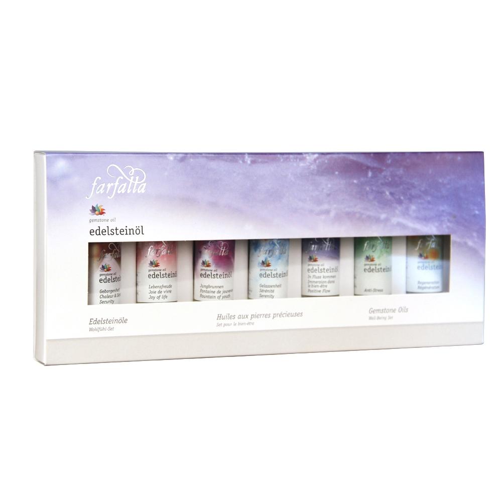 Massage-Öl Edelstein Balance® Testset