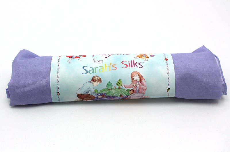 Spieltuch / Seidentuch lila hell
