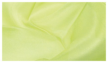 Großes pflanzengefärbtes Seidentuch 90 x 200 cm frühlingsgrün