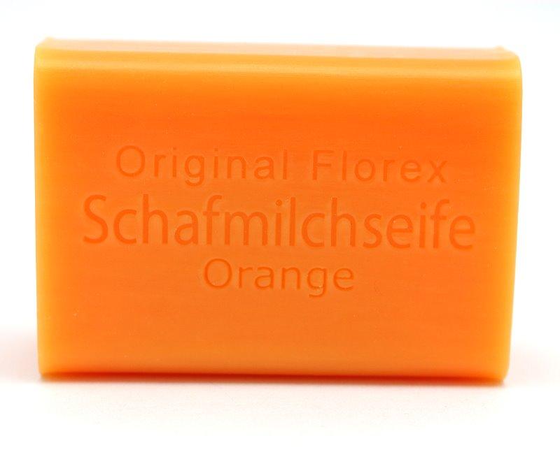 Schafmilchseife / Filzen Orange