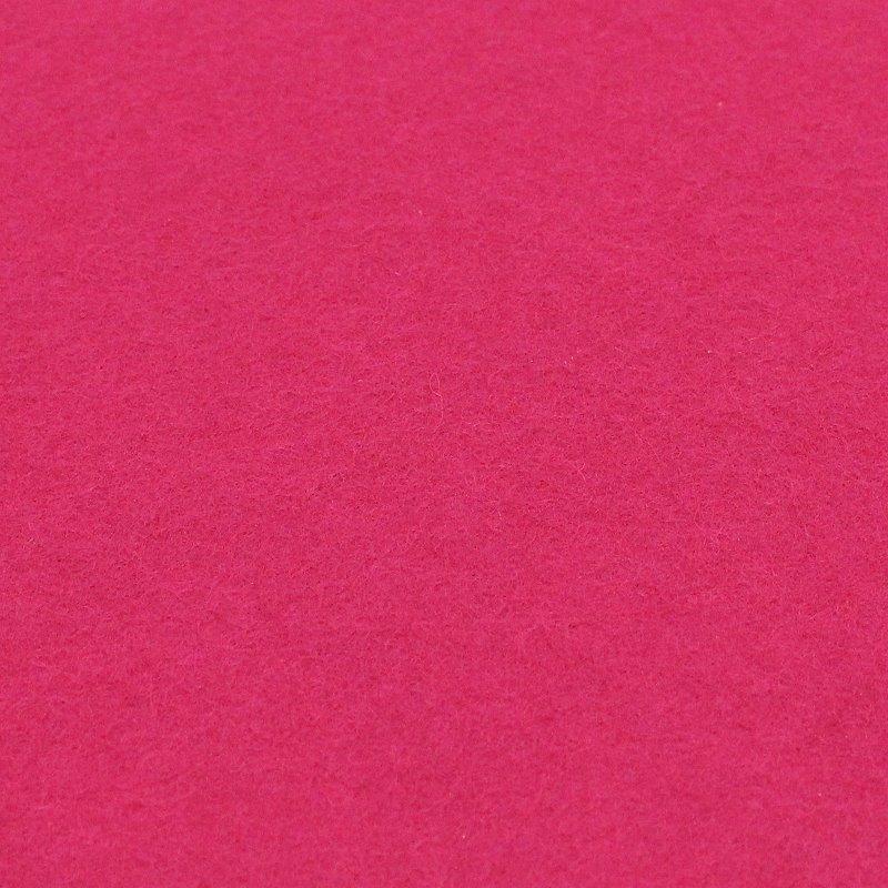 100% reiner Wollfilz Pink